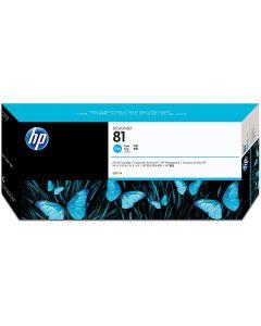 HP 81 C4931A Ink Cartridge for DesignJet 5000 series, 680ml, Cyan