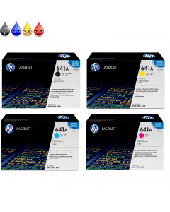 HP 641A is designed to perform flawlessly with HP 4600, 4610, and 4650 LaserJet Printers.