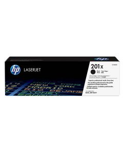 HP 201X Laserjet Black Toner Cartridge (CF400X) High Yield